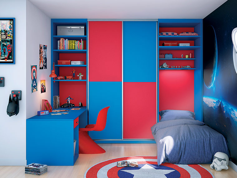chambre enfant sur mesure lyon archea. Black Bedroom Furniture Sets. Home Design Ideas